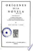 Origenes de la novela: Cuentos y novelas cortas; La Celestina