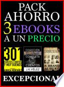 Pack Ahorro, 3 ebooks