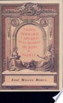 Páginas memorables y apócrihas Ha Reino de Vcia.