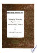 Paleografía diplomática española y sus peculiaridades en América