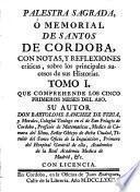 Palestra Sagrada ó memorial de los santos de Córdoba