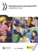 Panorama de la educación 2017 Indicadores de la OCDE