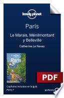 París 7_6. Le Marais, Ménilmontant y Belleville