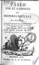 Paseo por el Gabinete de Historia Natural de Madrid