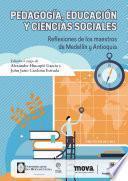 Pedagogía, educación y ciencias sociales