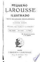 Pequeño Larousse ilustrado : äb nuevo diccionario enciclopédico