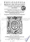Philosophia moral de principes, 1
