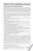 Phytocoenologia
