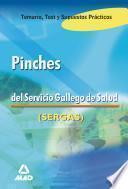 Pinches Del Servicio Gallego de Salud. Temario, Test Y Supuestos Prácticos. E-book