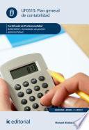 Plan General de Contabilidad. ADGD0308