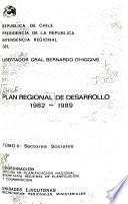 Plan regional de desarrollo, 1982-1989