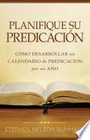 Planifique su predicacion