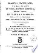 Pláticas doctrinales...