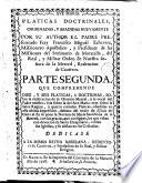 Pláticas dominicales, 2