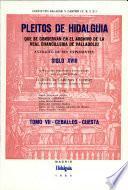 Pleitos de hidalguía que se conservan en el Archivo de la Real Chancillería de Valladolid: Ceballos-Cuesta
