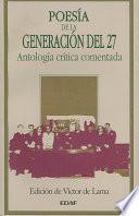 Poesía de la generación del 27
