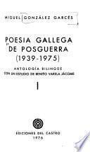 Poesía gallega de posguerra (1939-1975)