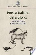 Poesía italiana del siglo XX