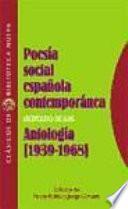 Poesía social española contemporánea