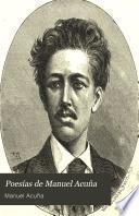 Poesías de Manuel Acuña