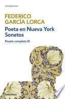 Poeta en Nueva York   Sonetos (Poesía completa 3)