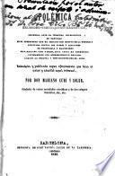 Polémica religioso-frenolójico-magnética