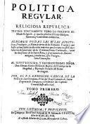 Política Regular y Religiosa Republica