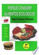 Porqué consumir alimentos ecológicos