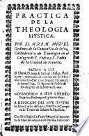 Practica de la Theologia mystica