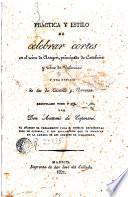 Práctica y estilo de celebrar cortes en el reino de Aragón, principado de Cataluña y reino de Valencia y una noticia de las de Castilla y Navarra, 1