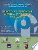 Practicas y residencias/ Practices and residences