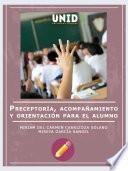 Preceptoría, acompañamiento y orientación para el alumno