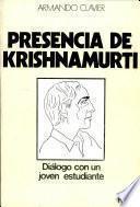 Presencia de Krishnamurti