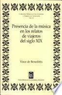 Presencia de la música en los relatos de viajeros del siglo XIX