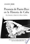 Presencia de Puerto Rico en la historia de Cuba