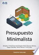 Presupuesto Minimalista