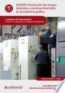Prevención de riesgos laborales y medioambientales en la industria gráfica. ARGI0310