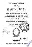 Primera parte de la gramática latina