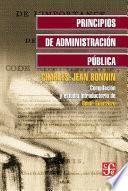Principios de administración pública