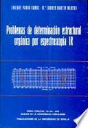Problemas de determinación estructural orgánica por espectroscopía IR