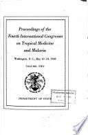 Proceedings of the Fourth International Congresses ...