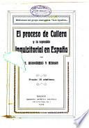 Proceso de cullera y la represión inquisitorial en España