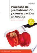Procesos de preelaboración y conservación en cocina 2.ª edición 2020