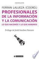 Profesionales de la información y la comunicación