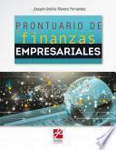 Prontuario de finanzas empresariales