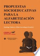 Propuestas socioeducativas para la alfabetización lectora