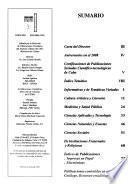 Publicaciones seriadas cubanas