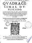 Quadragesimal duplicado compuesto por... Fray Joseph de Bardaxi... con dos tablas...