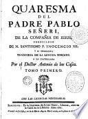 Quaresma del padre Pablo Señeri ...