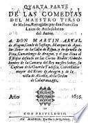 Quarta Parte de las Comedias del Maestro Tirso de Molina